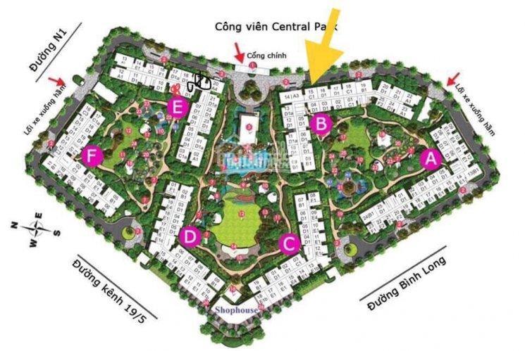 Chính chủ kẹt tiền bán gấp căn hộ Emerald Celadon City 53.3m2 giá tốt nhất thị trường LH 0936592937