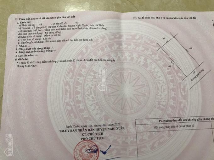 Chính chủ bán 2 lô liền kề đất quy hoạch tại TDP 2 - TT Xuân An - Nghi Xuân - Hà Tĩnh (999tr)