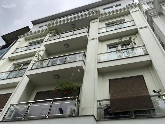 Bán nhà 5 tầng DT 96m2 x MT 12m, mặt hồ làng Yên Phụ, Quận Tây Hồ, Hà Nội