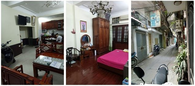 Cho thuê nhà ngõ Đình Đông, Bạch Mai - Hai Bà Trưng 45m2 x 4 tầng