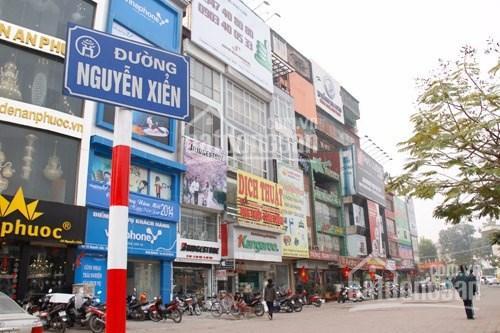 Nhà mặt phố Nguyễn Xiển, 100m2 8 tầng thang máy, HĐ cho thuê 90 tr/th, 24 tỷ