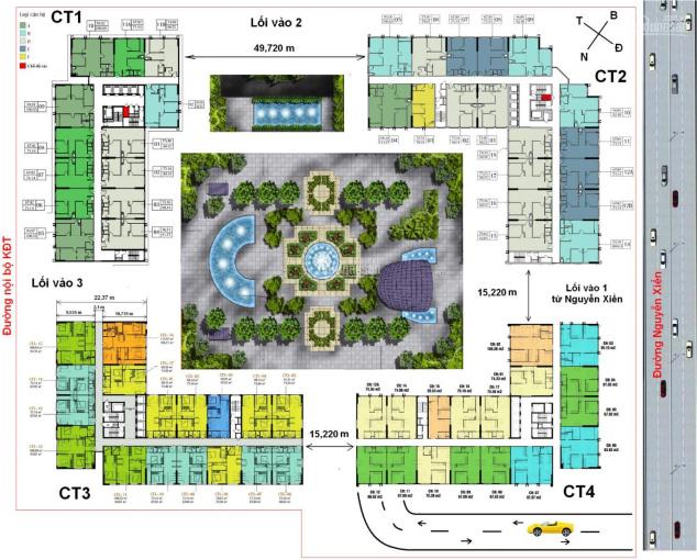 Bán gấp căn hộ 106m2 tòa CT2 chung cư Eco Green Nguyễn Xiển gía rẻ nhất thị trường, LH 0763092626
