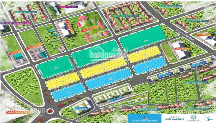 Bán đất đô thị - Trung tâm thị Trấn Sa Thầy - Sun Garden Kon Tum - Chỉ từ 450 triệu