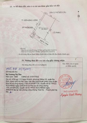 Bán đất tặng nhà cấp 4 Đoàn Thị Điểm - Đống Đa 33m2 MT 3,8m nỏ hậu cách MP 50m, LH 0941139095