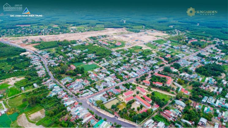 Bán đất nền trung tâm thị trấn, đối diện bến xe, Chợ đầu mối, dân cư đông đúc. Giá chỉ 450 triệu