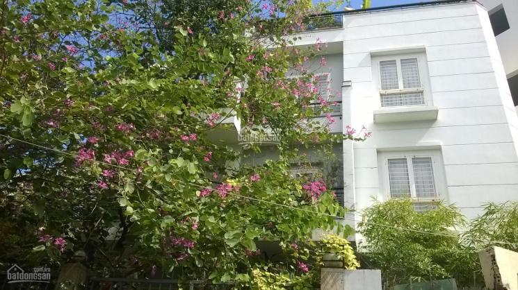Cho thuê villa mặt tiền Nguyễn Ngọc Phương, Quận Bình Thạnh: 10m x 12m, hầm, trệt, 2 lầu, ST ảnh 0
