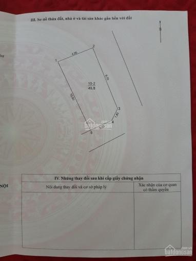 Bán đất thổ cư lô góc, DT 49.8m2, giá 2.8 tỷ, thị trấn Văn Điển, Thanh Trì, LH, 0937119669 ảnh 0