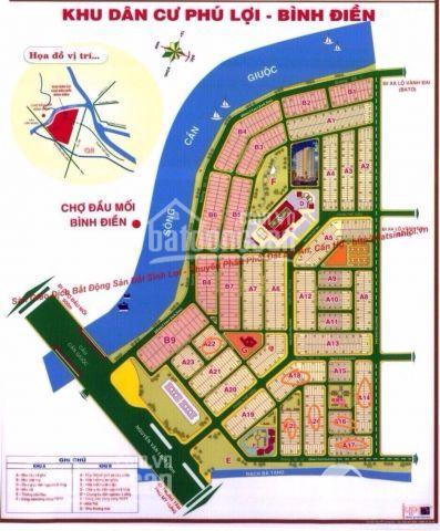 Cần thanh lý nhanh đất KDC Phú Lợi - MT Phạm Thế Hiển, P. 7 Q 8, sổ đỏ giá từ 21tr/m2 LH 0931278761 ảnh 0