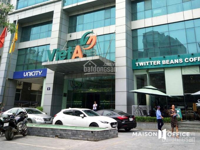 Tin sốc! CC cho thuê văn phòng Việt Á - Duy Tân, DT 75m - 150m - 300m - 700m2 giá chỉ 190nghìn/m2/T ảnh 0
