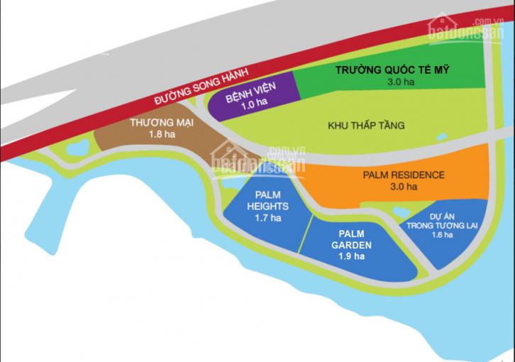 Nên mua CH Palm Garden - CĐT Keppel Land - 2PN - Tầng 18 view sông - Bán giá gốc. LH 0937.158.757 ảnh 0