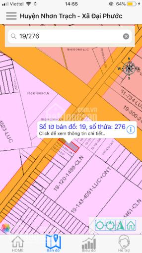 MT Vàm Ô, xã Đại Phước, cách phà Cát Lái chỉ 3km Call: 0375019940 (Nhận ký gửi đất Nhơn Trạch) ảnh 0