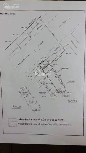 Cần bán nhà mặt tiền 77A Cô Bắc, P Cô Giang Q1, nở hậu, giá 27 tỷ ảnh 0