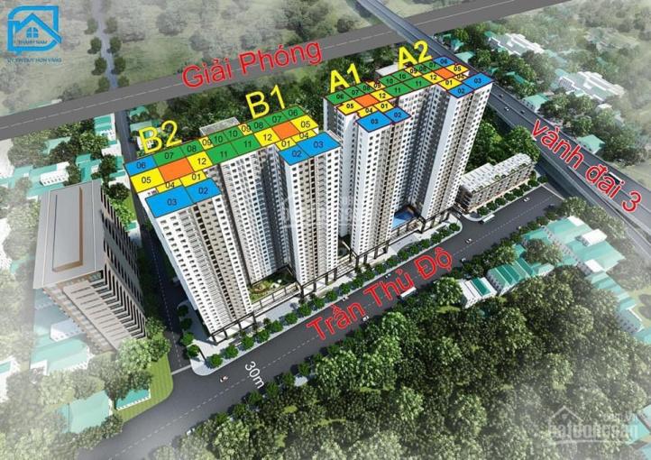 Bán trung tâm thương mại tầng 1,2,3 dự án Phương Đông Green Park số 1 Trần Thủ Độ, giá từ 27tr/m2 ảnh 0