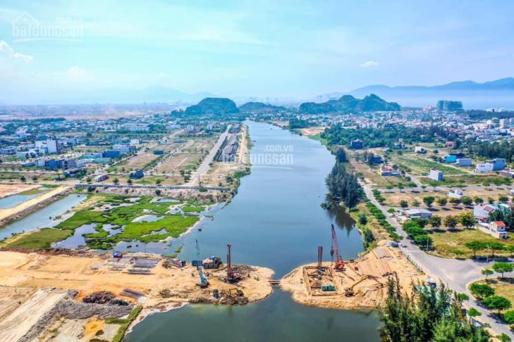 Đất biệt thự view 100% sông Cổ Cò, DT 232m2 ngang 10m, gần Hội An ảnh 0