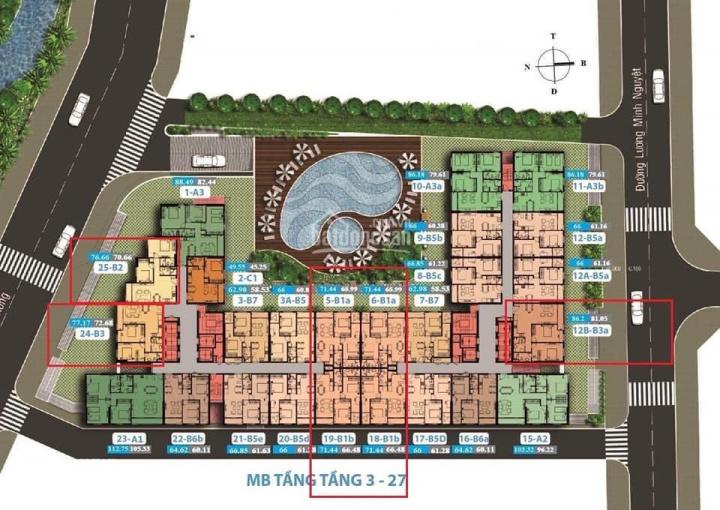Carillon 7 - Chính chủ cần bán gấp căn hướng Nam DT 77m2 - 2,750 tỷ cam kết giá rẻ ảnh 0
