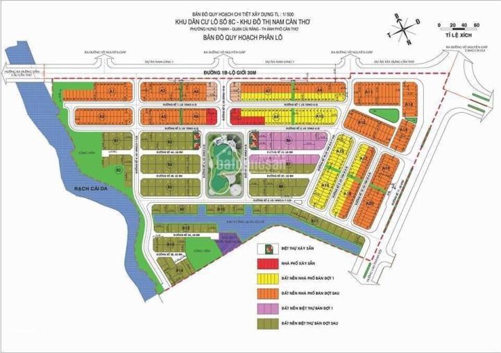 Tin nóng, bán nền biệt thự đẹp 200m2, KDC Nam Long 2, giá 6 tỷ, LH: 0907417960 ảnh 0