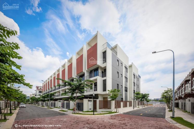 Nhà phố liền kề Haruka CĐT Becamex Tokyu, thanh toán 50% nhận nhà, TT 5 năm không lãi suất ảnh 0