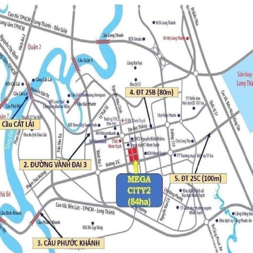 Thanh lý gấp hai lô liền kề Mega City 2, Nhơn Trạch, giá 10tr/m2, LH: 0965514920 ảnh 0