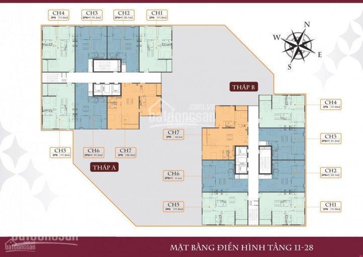 Cần bán gấp căn hộ 03 tòa B Stella - diện tích 91.2m2 - giá 3.15 tỷ có sổ đỏ chính chủ ảnh 0