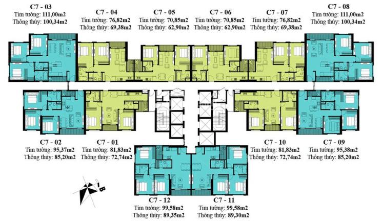Bán cắt lỗ D'Capitale Trần Duy Hưng, căn góc 3 ngủ đông nam view hồ, giá 4,6 tỷ ảnh 0