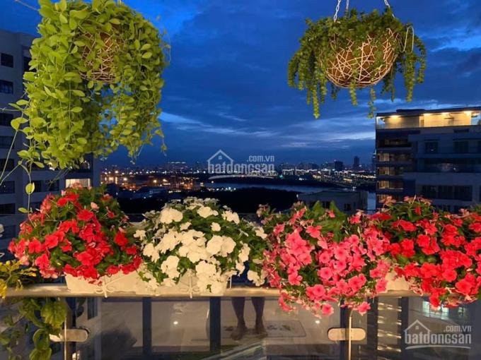 Bán căn hộ 3 phòng ngủ + 1 phòng làm việc 142m2, tháp Bora Bora, view sông Sài Gòn, nội thất đẹp ảnh 0