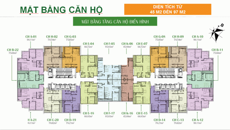 Gia đình tôi chính chủ cần bán căn A11 - 75m2, giá 2,05 tỷ chung cư Eco Dream, LH: 0981300655 ảnh 0
