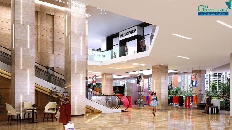 Bán kiot, sàn thương mại Green Park cho công ty người nước ngoài, giá chỉ từ 1.530 tỷ ảnh 0