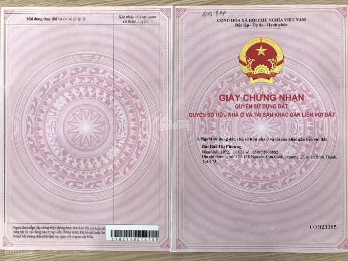Bán nhà MT Trương Văn Bang, nhà mới hoàn công ngay UBND Q2 ảnh 0