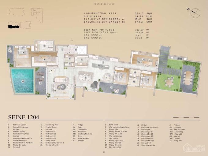 Đặc quyền chọn mua 12 căn penthouse đẹp nhất The River Thủ Thiêm ảnh 0