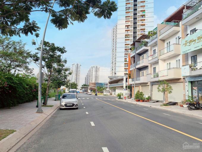Nhà MT đường chính N8 20m Jamona City, DT 5x17m, XD trệt 3 lầu, Tây Bắc, giá 12.5 tỷ LK PMH, Q1, Q2 ảnh 0