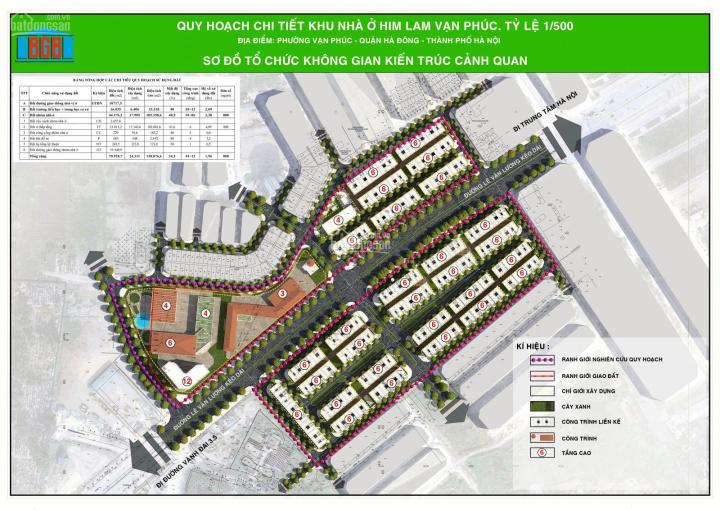 PKD chủ đầu tư Him Lam Vạn Phúc thông báo chính thức nhận chỗ dự án LK Vạn Phúc mặt đường Tố Hữu ảnh 0