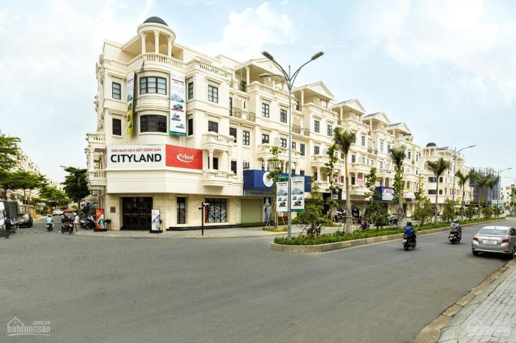 Cho thuê nhà phố shophouse Cityland 1 trệt + 4 lầu giá 45tr/th có thang máy, LH: 0836.311.286 ảnh 0
