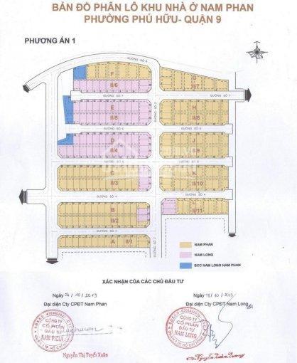 Chính chủ bán nền đất KDC Nam Phan, Kikyo Residence, Q9, giá 3.8 tỷ, TC 100%, xây TD, LH 0922011001 ảnh 0