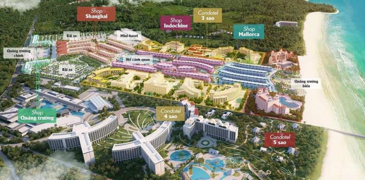 Bán Shophouse Grand World Phú Quốc chỉ 8,8 tỷ/căn 72m2 gồm 5 tầng 1 tum, cam kết thuê 1 tỷ/2 năm ảnh 0