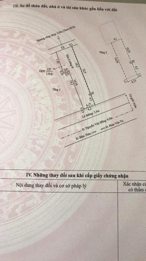 Bán nhà mặt tiền Nguyễn Việt Hồng, DT: 4,2m (hậu 6m) x 22,9m, 1 lầu, giá: 17 tỷ ảnh 0