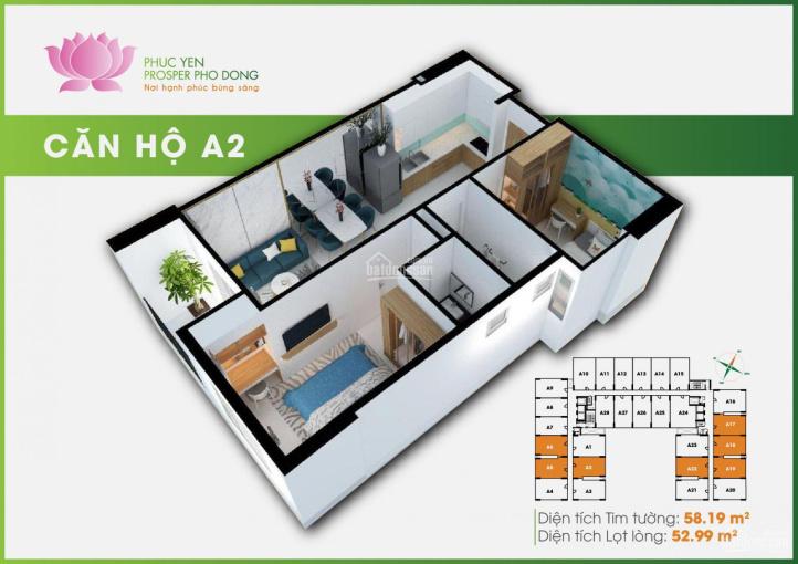 Bán rẻ căn hộ Prosper Phố Đông, mặt tiền Tô Ngọc Vân, căn A18 tầng 9 view về Tô Ngọc Vân ảnh 0