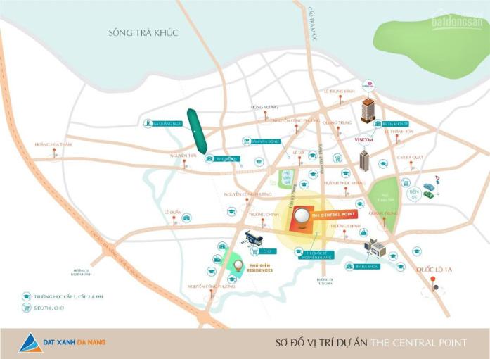 Bán 10 lô đất đường Trần Kỳ Phong chỉ 19 triệu/m2 thích hợp xây nhà hàng, khách sạn, villa ảnh 0