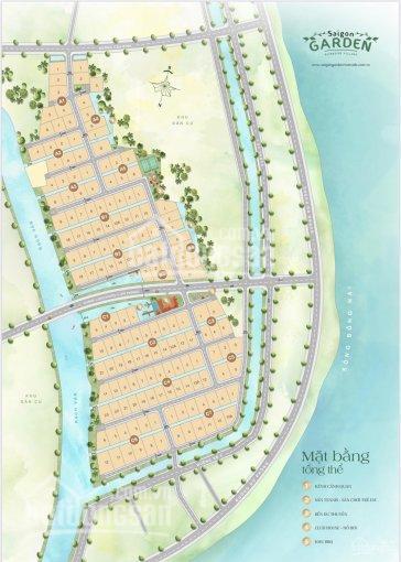 Cuộc sống thượng lưu cùng nền biệt thự vườn Q9 Sài Gòn Garden Riverside Village, giá chỉ 22tr/m2 ảnh 0