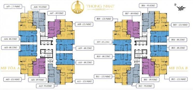 Tôi cần bán căn hộ 12 tòa B chung cư Thống Nhất Complex, sổ đỏ chính chủ tên tôi LH 0329674999 ảnh 0