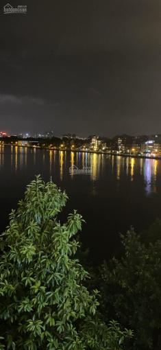 Bán nhà 6 tầng, mặt Hồ Tây phố bán đảo làng Yên Phụ Tây Hồ Hà Nội, 220m2, mặt tiền 9m, giá 100 tỷ ảnh 0