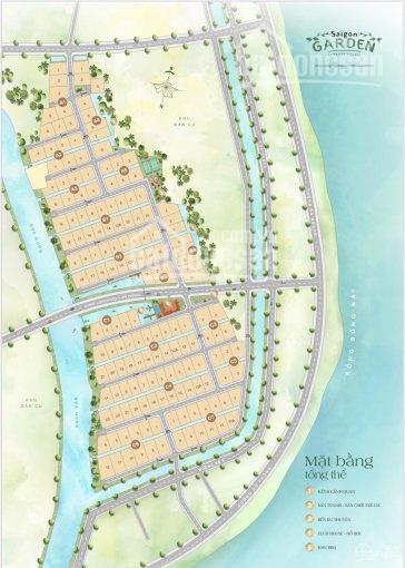 Hưng thịnh mở bán nền biệt thự vườn Q9 Sài Gòn Garden Riverside Village, giá 22tr / m2 ảnh 0