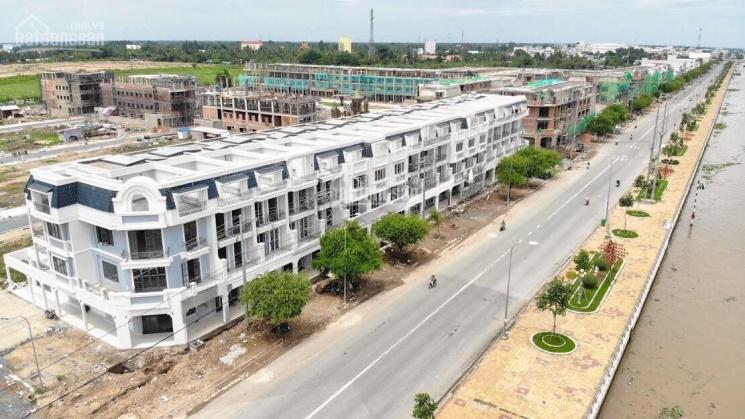 Bán nhà mới xây mặt tiền Trần Hưng Đạo, TP Vị Thanh dự án Cát Tường, 5x22m, 3 lầu giá chủ đầu tư ảnh 0