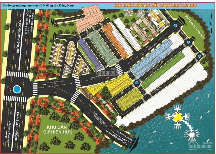 Cần bán gấp đất Đảo Kim Cương, Long Thuận, Q.9 giá từ 1.8 tỷ - DT 64m2 sổ hồng riêng. LH 0938662295 ảnh 0