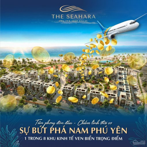 The Seahara Phú Yên - Shop Villas mặt Biển, kề sân bay Tuy Hòa ảnh 0
