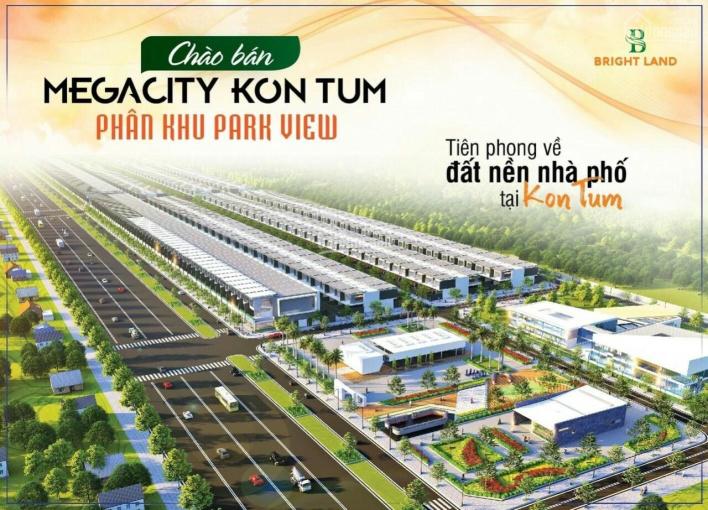 Lô góc Hùng Vương 203m2 dự án Mega City Kontum tuyệt đẹp giá chỉ 1tỷx sổ đỏ - LH 0966398609 ảnh 0