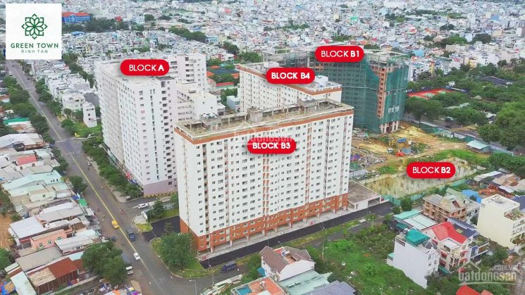 Căn hộ Green Town Bình Tân mới giao nhà - Trả trước 700 triệu ở liền, hỗ trợ vay 70%. LH 0906380816 ảnh 0