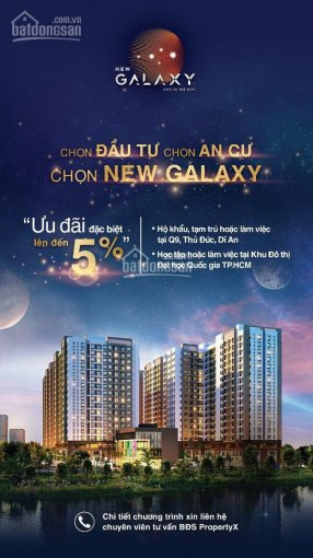 New Galaxy chiết khấu vip 5% khi đặt cọc mua hôm nay, căn hộ làng đại học Thủ Đức, SDT 0909018655 ảnh 0