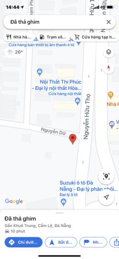 Chuyển nhượng góc 2MT Nguyễn Hữu Thọ và Nguyễn Dữ, 40x80m = 4106m2, giá 50 tr/m2 ảnh 0