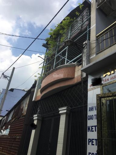 Cho thuê nhà hẻm xe hơi Tân Hương 4x12m, 1 lầu, giá 8 triệu ảnh 0