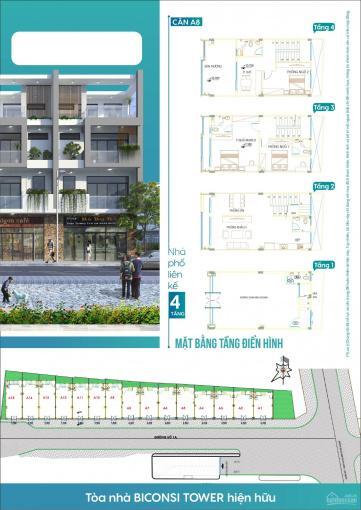 Nhà phố liền kề phù hợp để ở và kinh doanh ngay TP. Thủ Dầu Một. LH 0989178777 ảnh 0